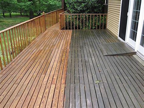 Deck Cleaning And Staining Atlanta by Eco Vapor Blasting Solutions Atlanta Ga