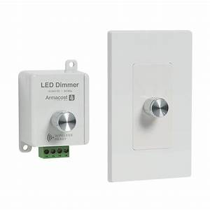 Led Dimmer Anschließen : armacost lighting 2 in 1 white led dimmer dim2in1 96w12v the home depot ~ Markanthonyermac.com Haus und Dekorationen