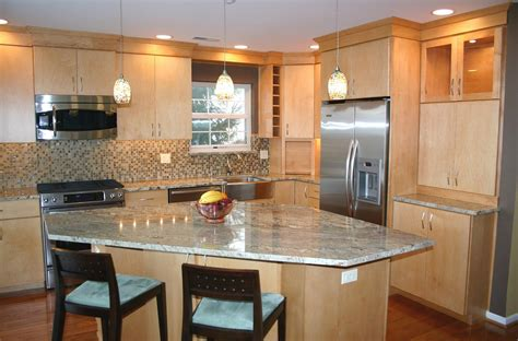 Best Of Kitchens With Light Maple Cabinets