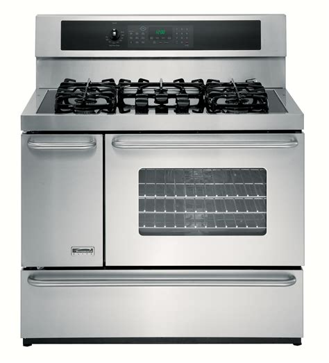 kenmore elite 75603 40 quot oven dual fuel range w convection