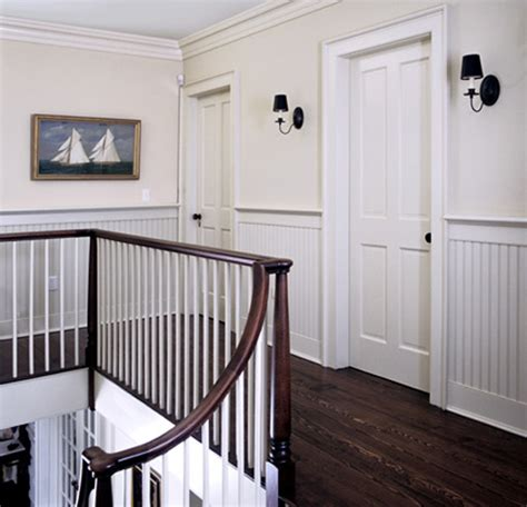 """Railing Against The """"chair Rail""""  The Painted Room Color"""