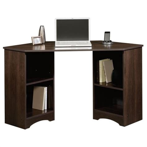 corner desk in cinnamon cherry 413073