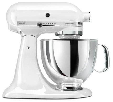 Kitchenaid Artisan Series Stand Mixer  White Modern
