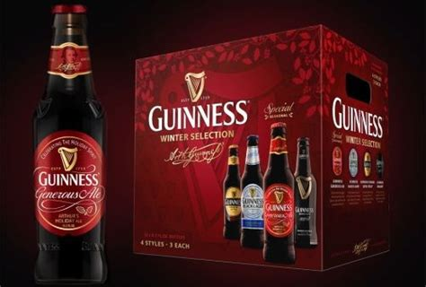 The Guinness Winter Selection Variety Pack Featuring
