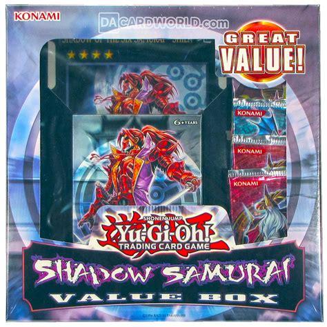 konami yu gi oh shadow samurai value box ebay
