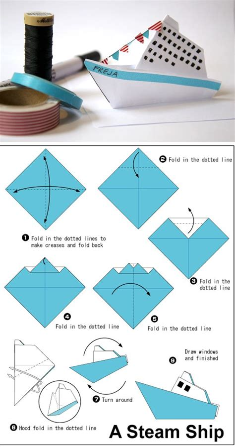 Origami Super Boat by Best 25 Origami Boat Ideas That You Will Like On Pinterest