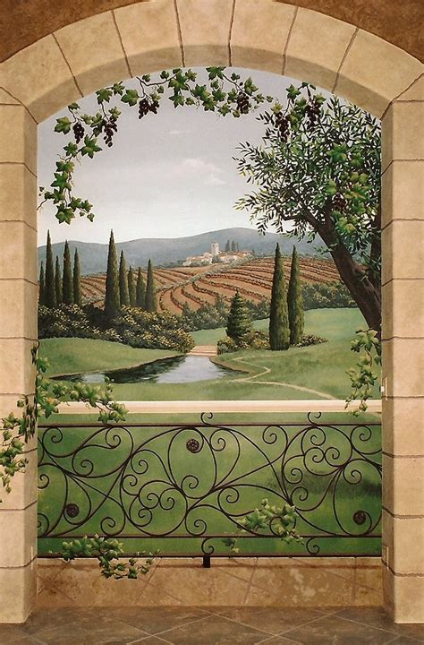 154 best tuscany images on tuscany wall murals and mural ideas