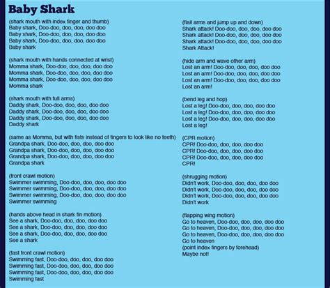 Baby Shark Summer Camp Songs  Our Favorite Songs!  Pinterest  Camp Songs, Camping And Girls Camp