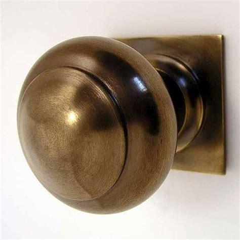 antique brass door knobs centre door knob square antique brass unlacquered