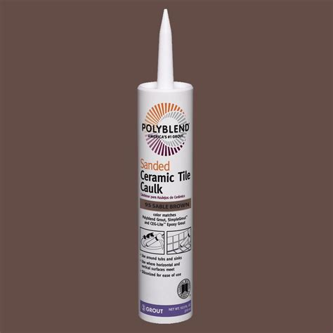 custom building products polyblend 95 brown 10 5 oz