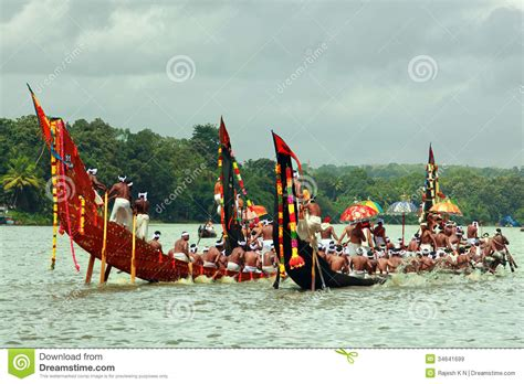 Dream Boat Race by Snake Boat Races Of Kerala Editorial Stock Image Image