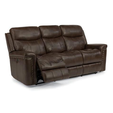 Flexsteel Latitudes Power Reclining Sofa by Flexsteel Latitudes Grover Power Reclining Sofa With Nail