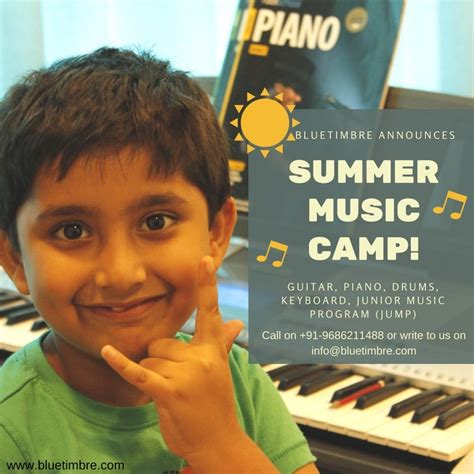 Musical Summer Camp, Whitefield, Bangalore