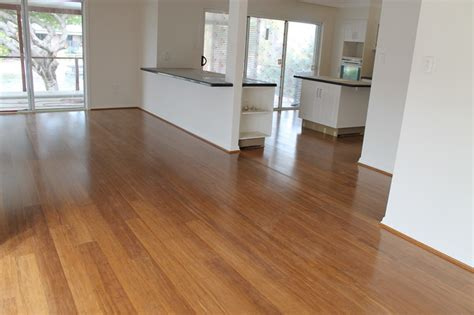 Bamboo Flooring Strand Woven Click Kitchen Island Brick Very Small Kitchens Design Ideas For Spaces White With Black Cart Drop Leaf Granite Table Yellow And Wooden Floor
