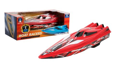 Blue Hat Toy Company Rc Boat Racer by Remote Controlled Boat Racer Groupon Goods