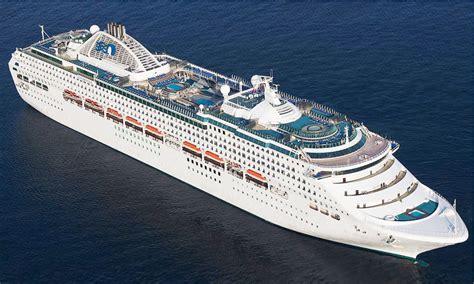Sun Princess Cruiseschip Van Princess Cruises Uit 1995