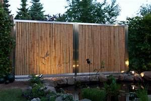 Bambus Edelstahl Sichtschutz : kundenbilder ~ Markanthonyermac.com Haus und Dekorationen
