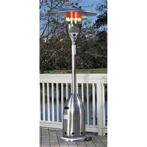 sense stainless steel deluxe patio heater 177143 pits patio heaters at sportsman
