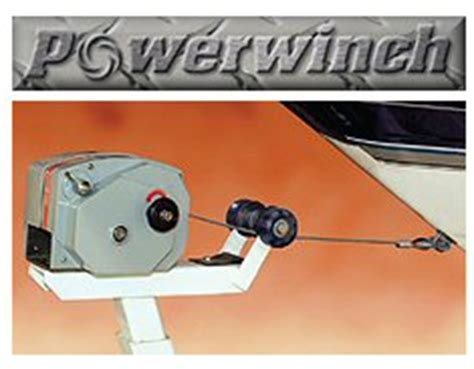 Boat Winch Strap Over Or Under by Powerwinch Electric Boat Trailer Winches At Trailer Parts