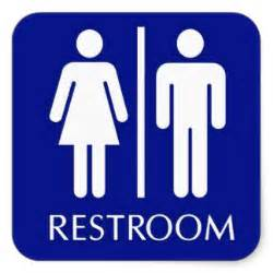 unisex bathroom sign printable clipart best
