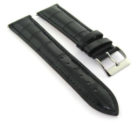 U Boat Watch Replacement Parts by 23mm Leather Watch Band Strap For 48mm U Boat Luminox Ebay