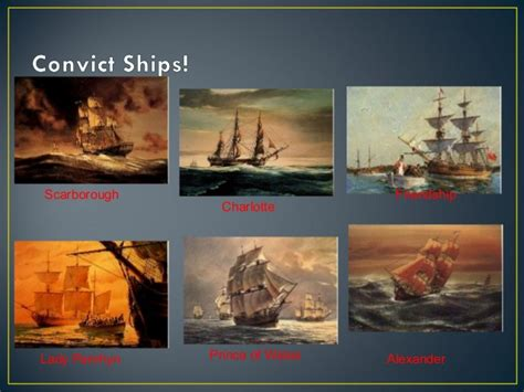 Boat Names Of The First Fleet by The First Fleet