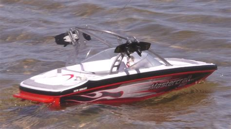 Toy Rc Fishing Jet Boat by Rc Speed Boat Mastercraft Tips Over On Lake Gopro Kids Fun