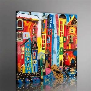 Bild 3 Teilig Auf Leinwand : 100 handgemalt gem lde bilder leinwand 1 teilig abstrakt wandbilder 5059 80x80 cm ~ Markanthonyermac.com Haus und Dekorationen