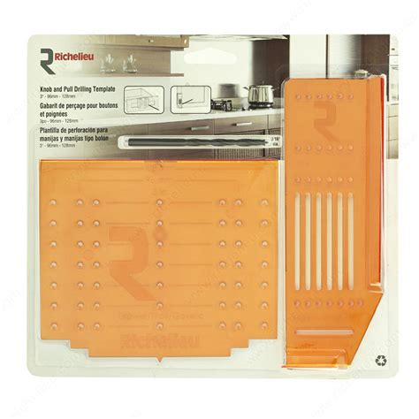 knob and pull drilling template kit richelieu hardware