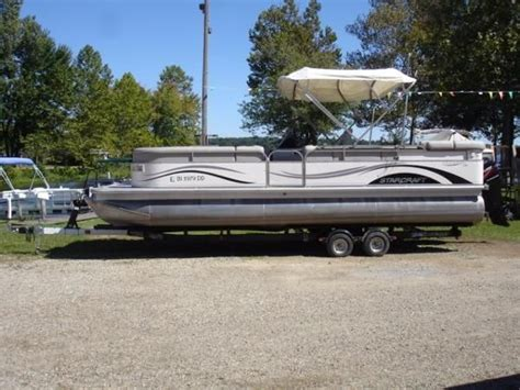 Boats For Sale In Ne Ohio by Used Pontoon Starcraft Boats For Sale Boats