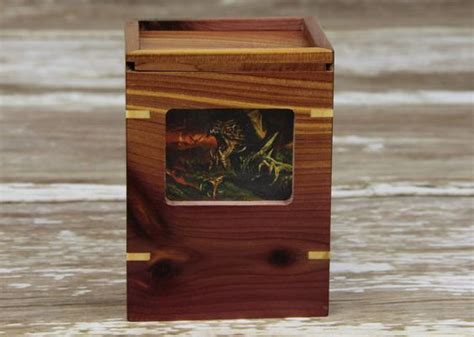 magic the gathering the gathering and deck box on