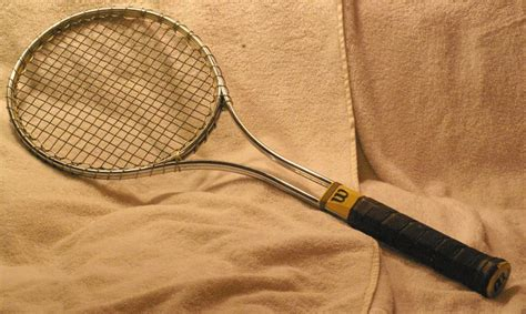 Vintage Wilson T-2000 Tennis Racket From About 1968 [sports-wilsont2000racquet-1968 Antique Mahogany Chairs Window Locks Jewelry On Ebay Brass Bed Prices Clock Faces Stove Repair Dealers That Come To Your Home Dining Table Styles