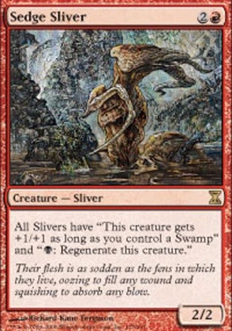 Mtg Sliver Deck Tapped Out by Sliver Me Timbers Edh Commander Edh Mtg Deck