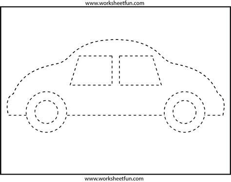 Picture Tracing  Preschool Worksheets  Pinterest  Tracing Worksheets, Worksheets And