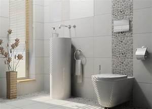 Badezimmer Weiß Grau : badezimmer fliesen hellgrau badezimmer incoming search terms badezimmer bodenfliesen ~ Markanthonyermac.com Haus und Dekorationen
