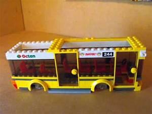 LEGO II:lego city corner bus build - YouTube