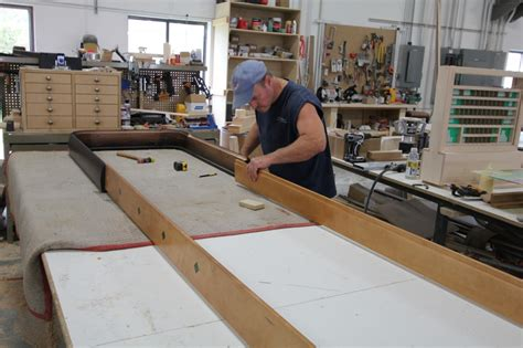 Mcclure Tables The Jacobus Rockola Shuffleboard Table