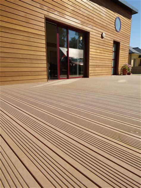 bardages en pvc et les bois composites faire construire sa maison