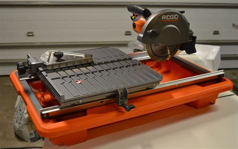 ridgid 7 quot tile saw review on tool box buzz tool box buzz