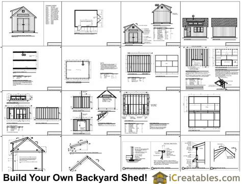 12x20 shed plans with dormer icreatables