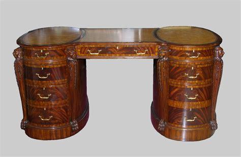 partner s desk made by maitland smith company 20th century 05 19 06 sold 3105