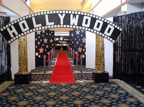 Party Ideas For A Hollywoodthemed Bar Mitzvah • Bar & Bat