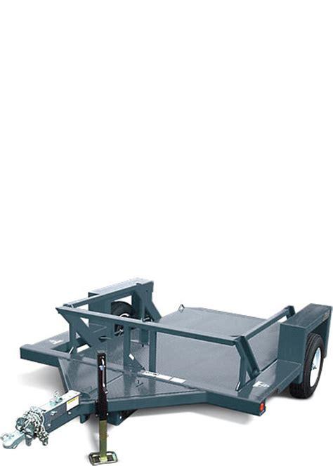 4610 flatbed trailer jlg