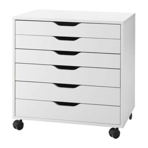 alex caisson 224 tiroirs sur roulettes blanc ikea