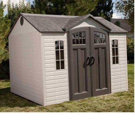 lifetime 60090 10x8 garden shed
