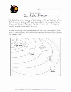 Solar System Printable Worksheets (page 3) - Pics about space