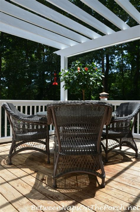 stain your deck with an based stain for lasting protection