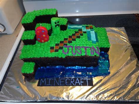 minecraft cake cake decorating ideas