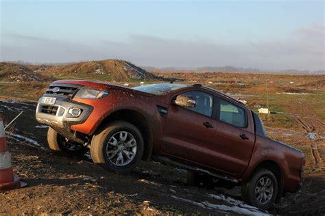 ford ranger wildtrak au quotidien jour 5 de la boue de l angle et du croisement de pont