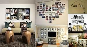 Idee Für Fotowand : 1001 ideen f r fotowand interessante wandgestaltung ~ Markanthonyermac.com Haus und Dekorationen